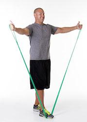 clx shoulder scaption / elevation  bilateral