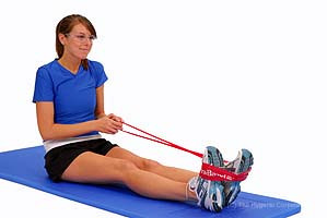 Thera-Band Loop Ankle Eversion