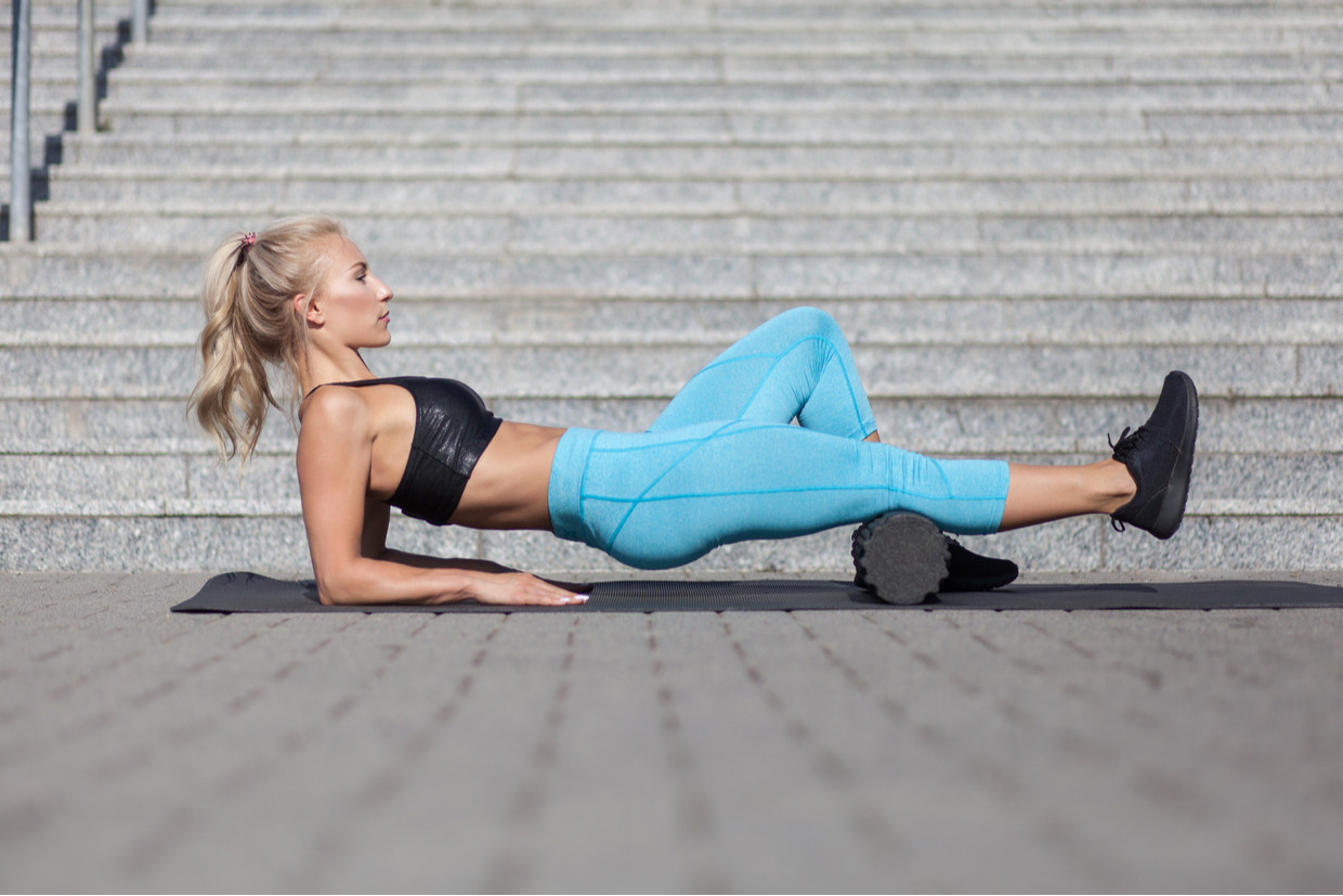 5 Strength Moves You Can Do with A Foam Roller