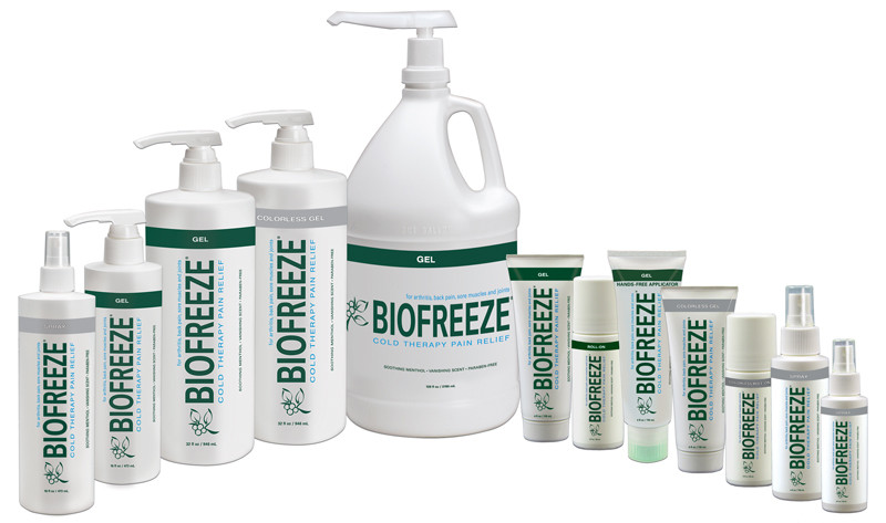 Biofreeze beats ice again!