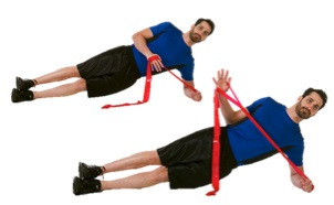 CLX Core Side Plank with External Rotation