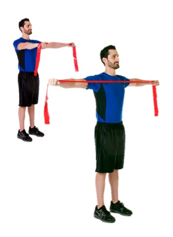 CLX Shoulder Horizontal Abduction Bilateral Standing