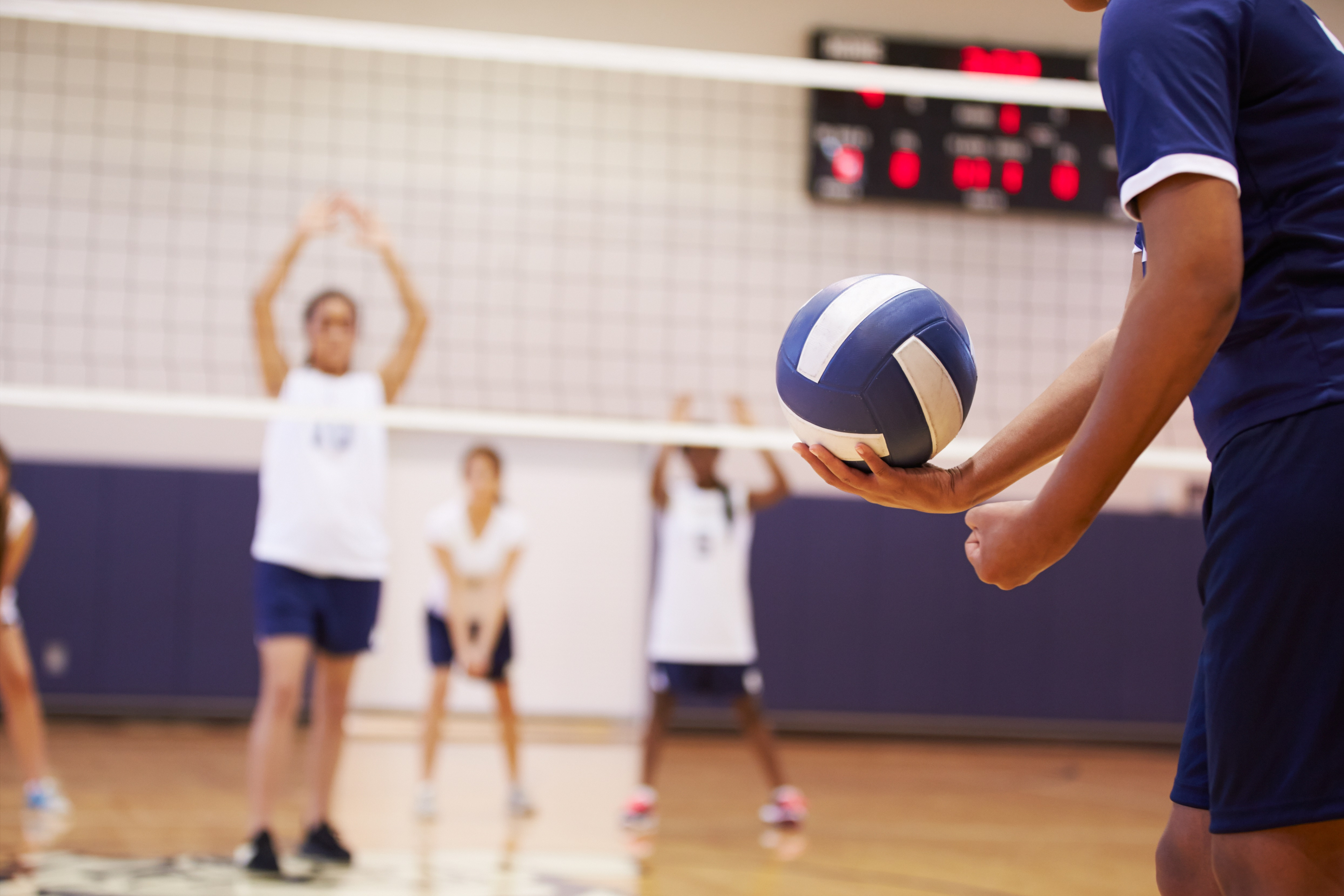 Common Volleyball Injuries