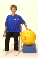 Pro Series Exercise Ball Closed Chain Shoulder Press