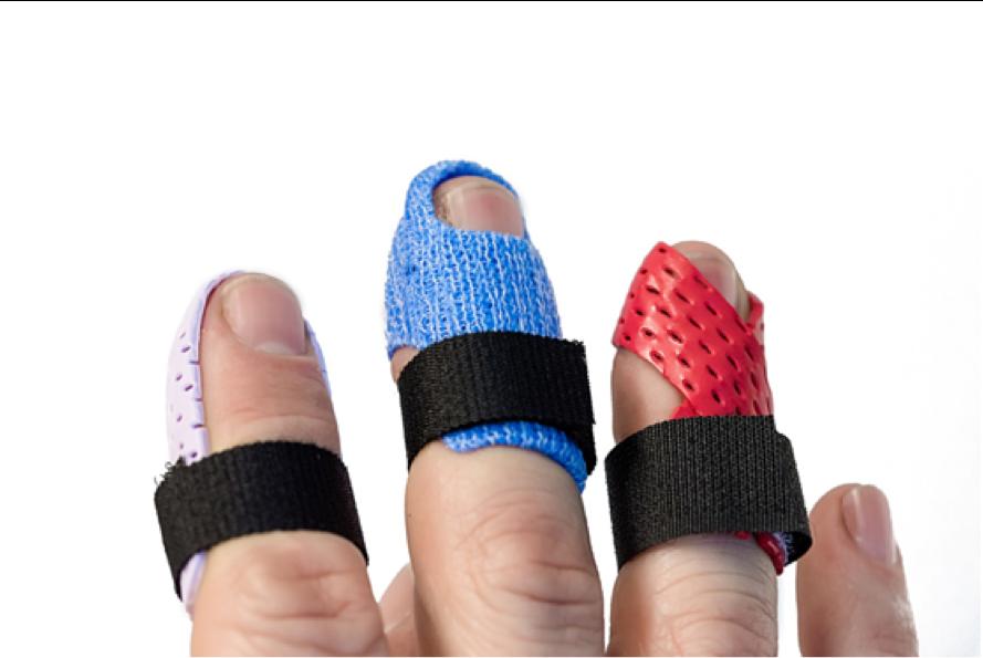 Five Common Mallet Finger Splints