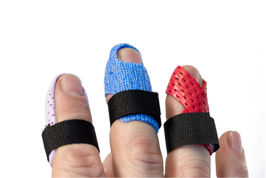Five Common Mallet Finger Splints