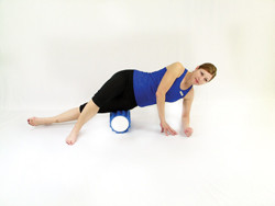 Pro Foam Roller with Wrap IT Band Release