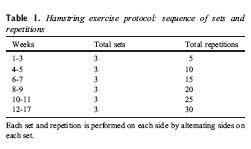 Cheerleader Hamstring Protocol