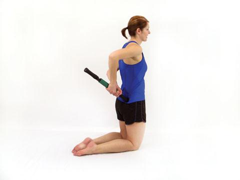 Roller Massager+ Glute Trigger Point Release