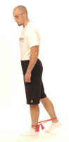 "Thera-Band Hip Extension ""Quick Kick"""