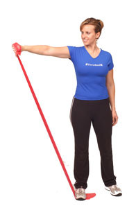 Thera-Band Shoulder Empty Can Raise