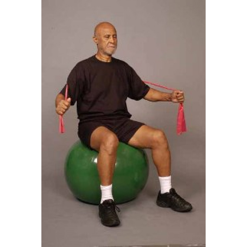 Thera-Band Shoulder Chest Flies in Sitting