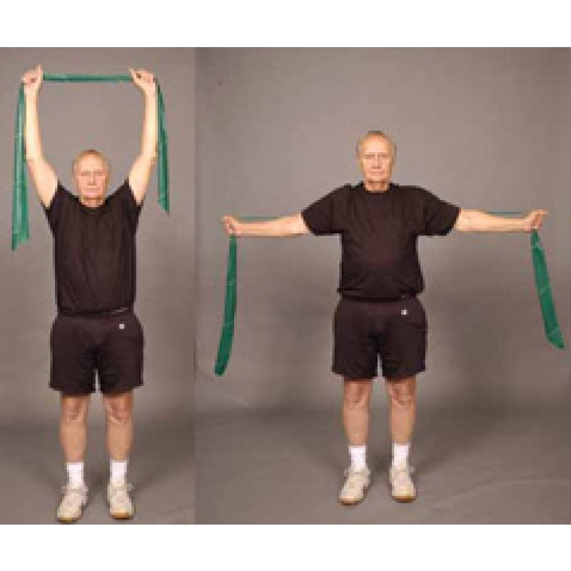 Thera-Band Shoulder Lat Pull Down (Older Adult)