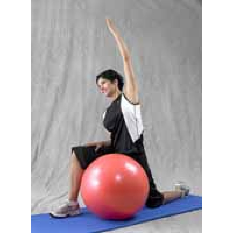 Pro Series Exercise Ball Hip Flexor Stretch