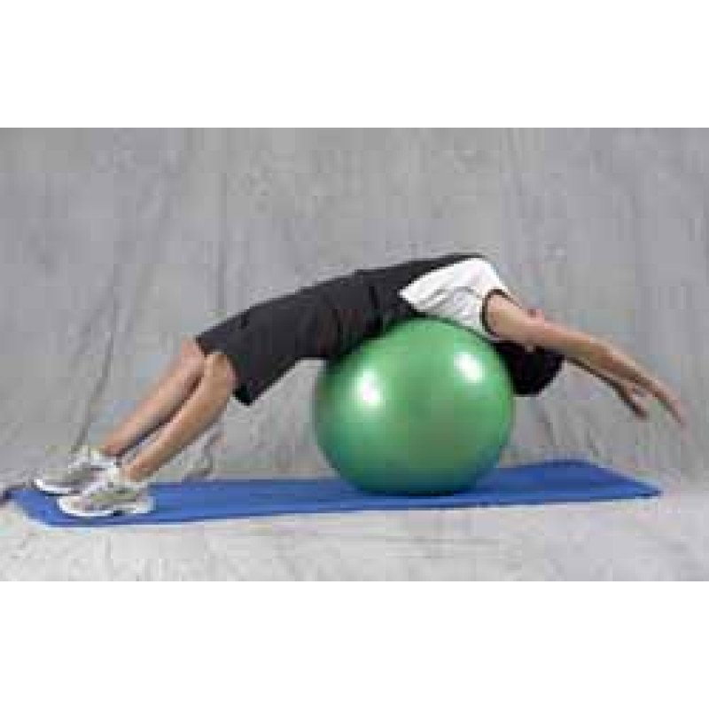 Pro Series Exercise Ball Supine Extension Stretch