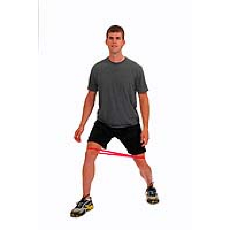 Thera-Band Loop Lunge (angled)
