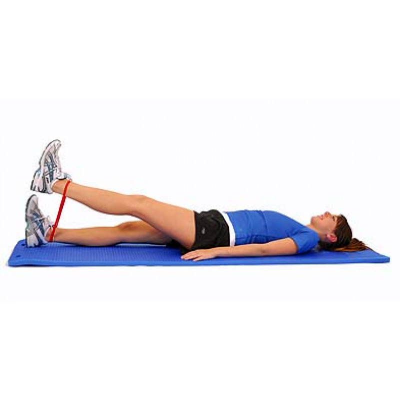 Thera-Band Loop Straight Leg Raise