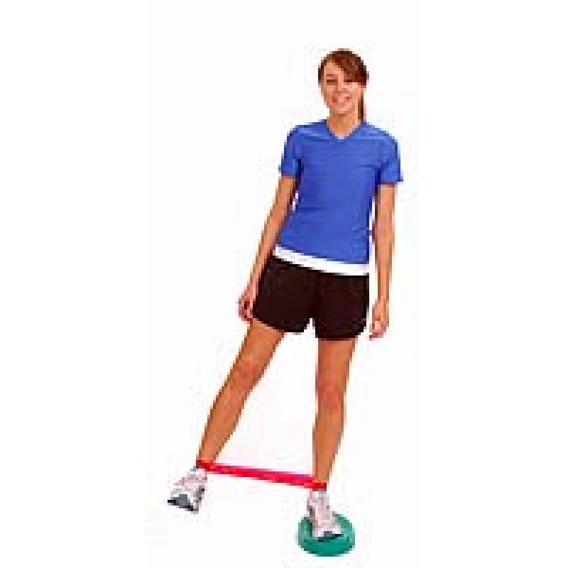 Thera-Band Loop Hip Abduction on Stability Trainer