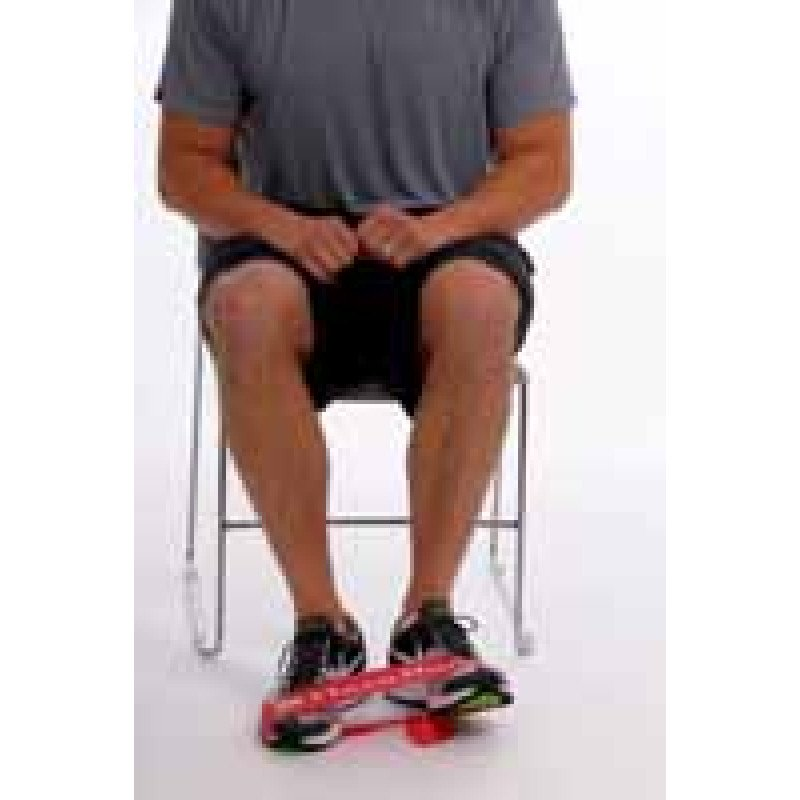 Thera-Band Loop Ankle Dorsiflexion + Eversion