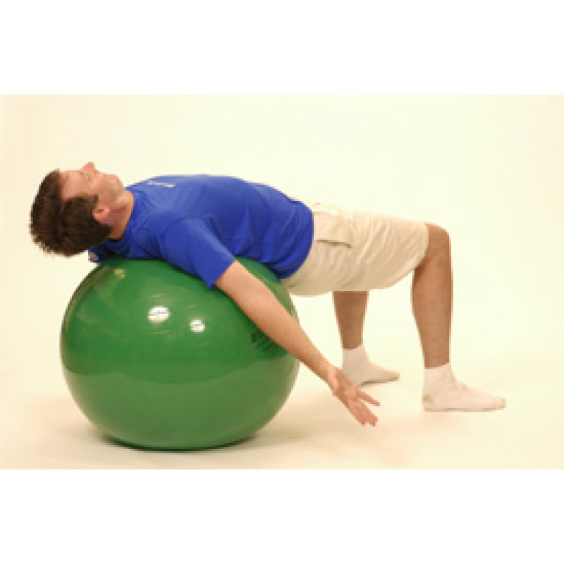 Pro Series Exercise Ball Bridge Pec Stretch