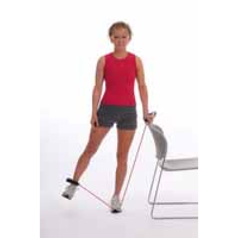 Thera-Band Tubing Standing Hip Abduction