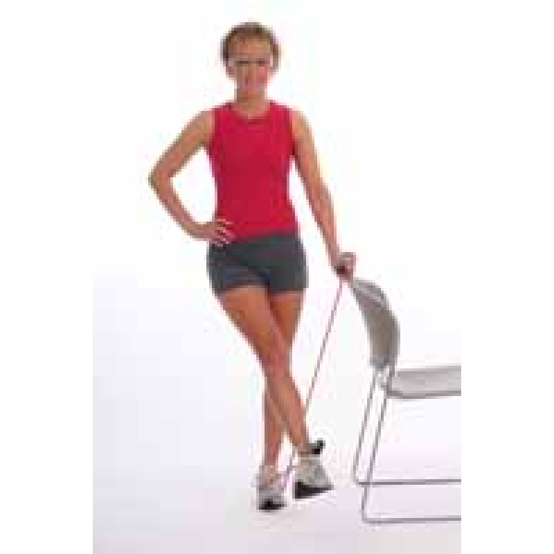 Thera-Band Tubing Standing Hip Adduction