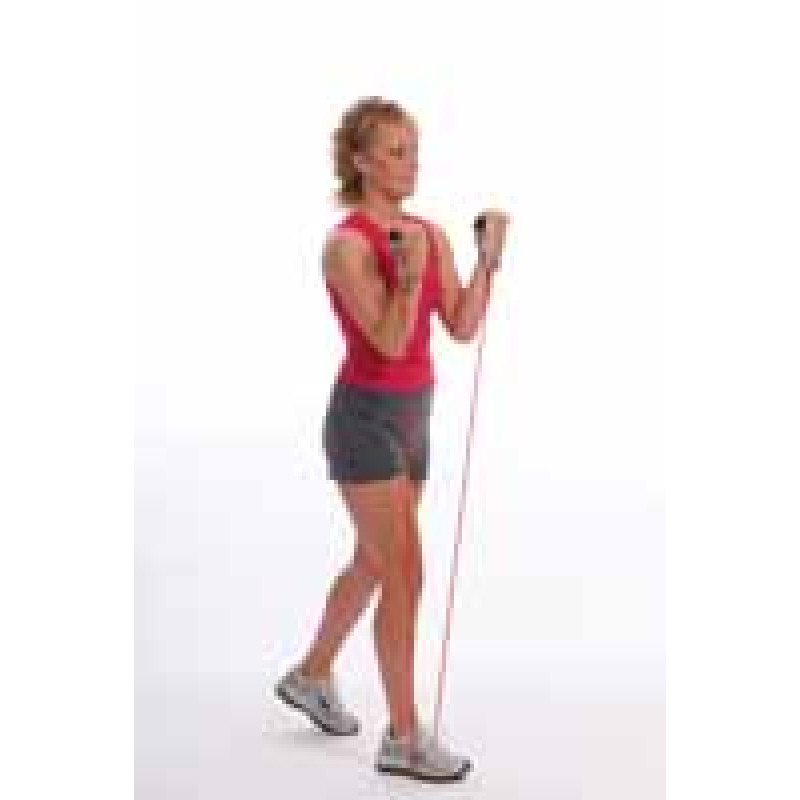 Thera-Band Tubing Elbow Flexion