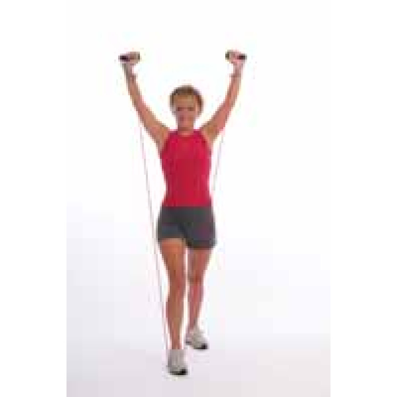 Thera-Band Tubing Functional Overhead Pressing