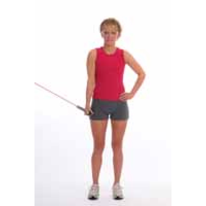 Thera-Band Tubing Shoulder Adduction