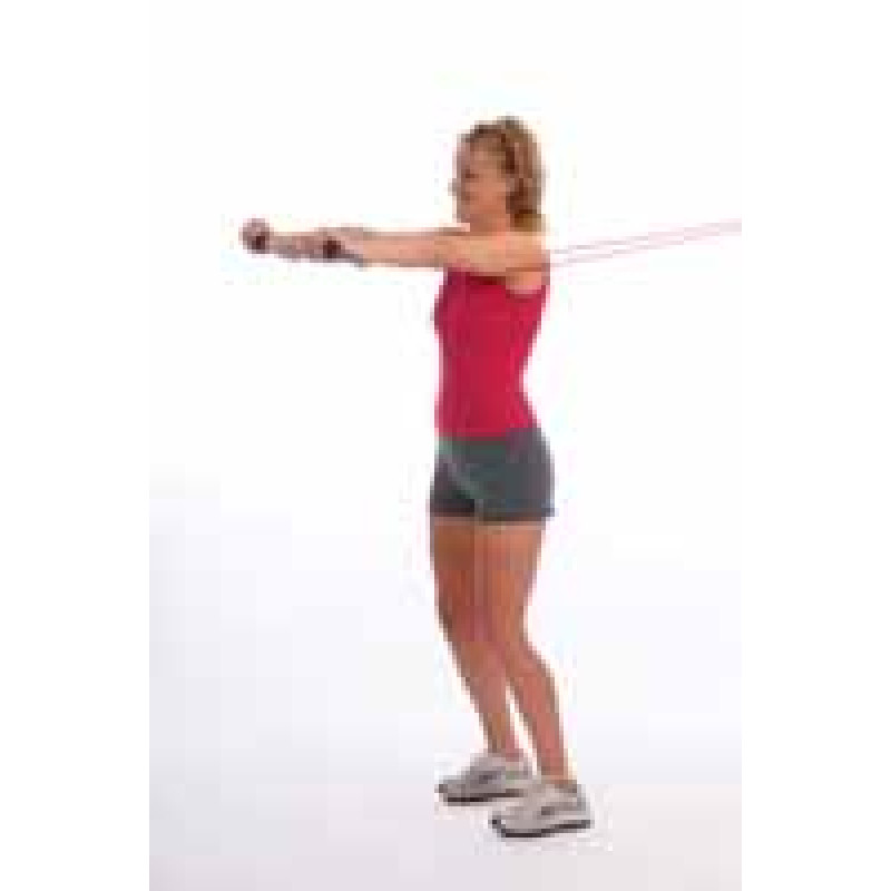 Thera-Band Tubing Functional Pushing
