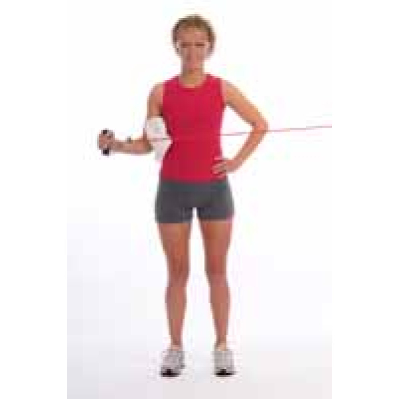 Thera-Band Tubing Shoulder External Rotation