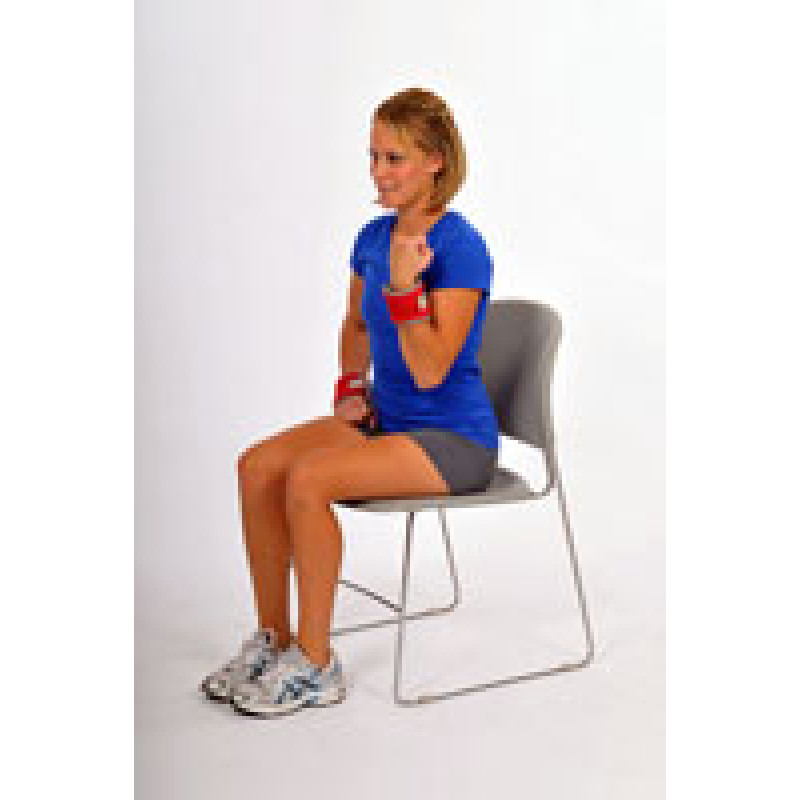 Thera-Band Cuff Weight Biceps Curl