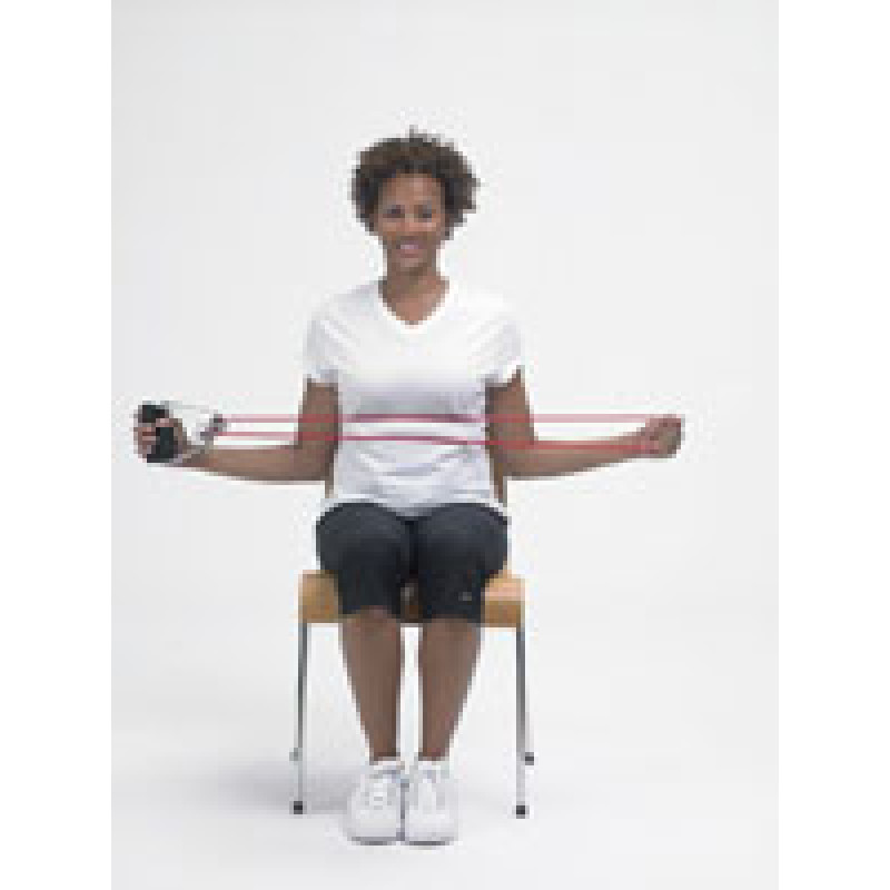Thera-Band Tubing Bilateral Shoulder External Rotation