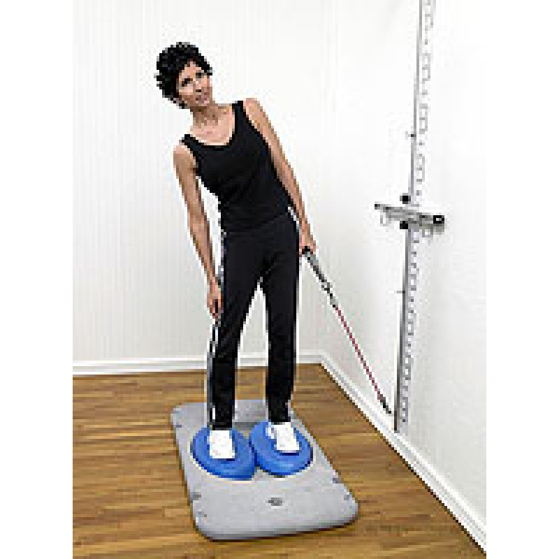 Rehab Station Lumbar Sidebending on Stability Trainer