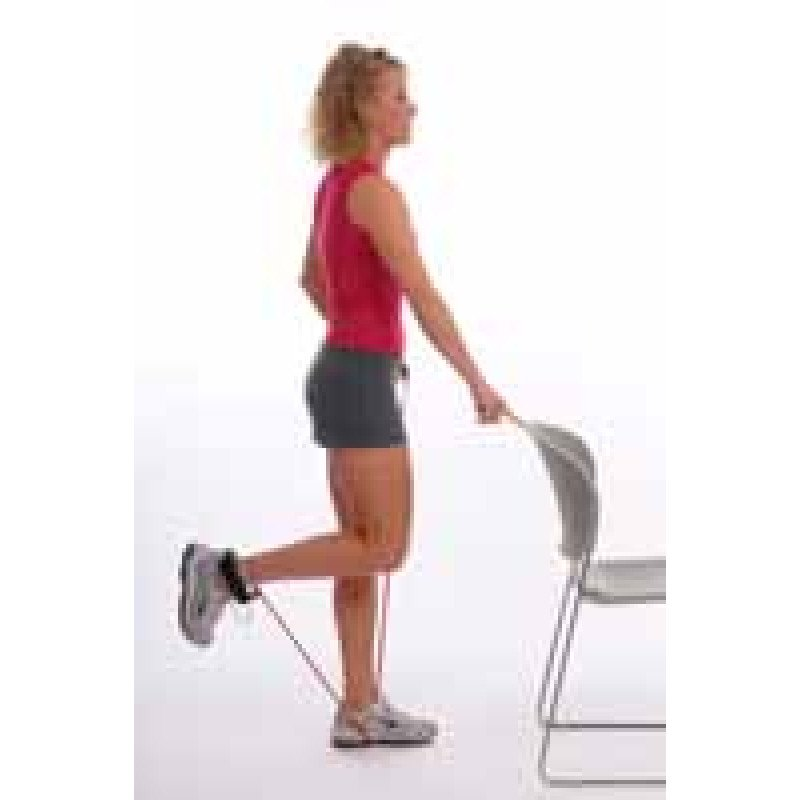Thera-Band Tubing Standing Knee Flexion