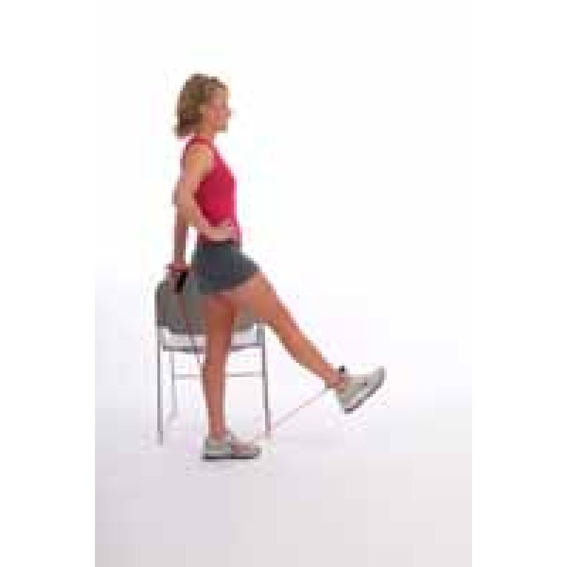 Thera-Band Tubing Standing Hip Flexion