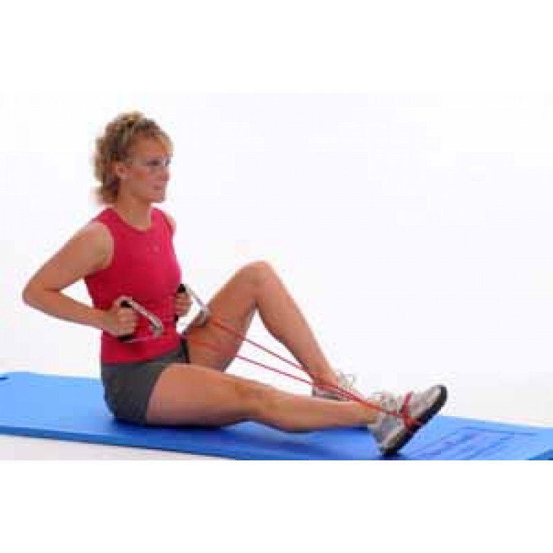 Thera-Band Tubing Ankle Plantarflexion