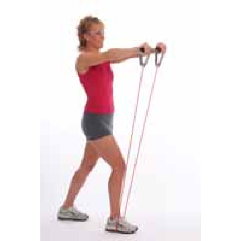 Thera-Band Tubing Front Raise