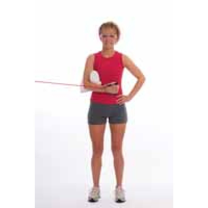 Thera-Band Tubing Shoulder Internal Rotation