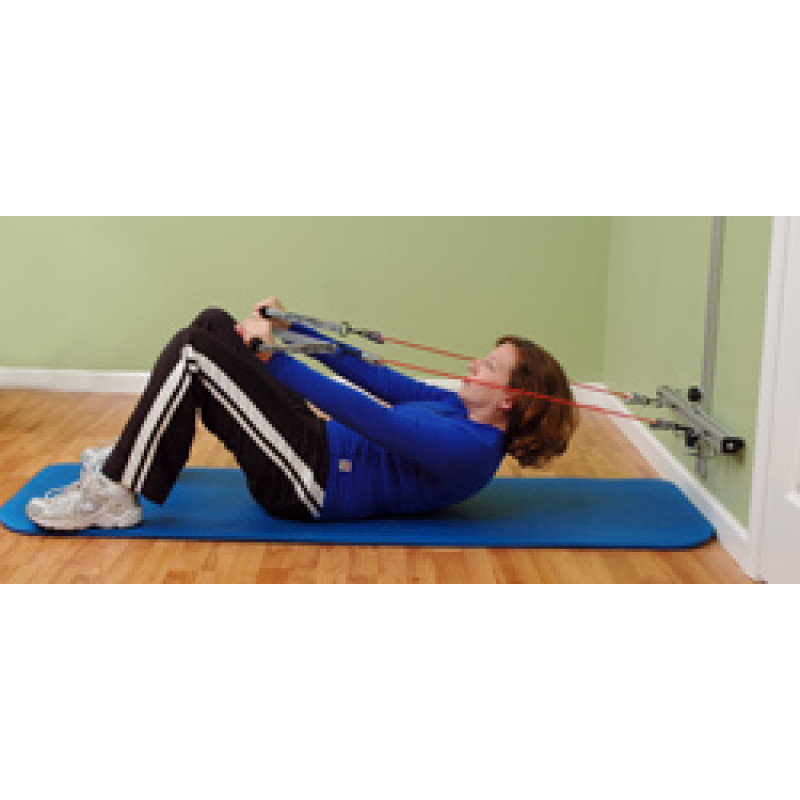 Wall Station Abdominal Curl-Up