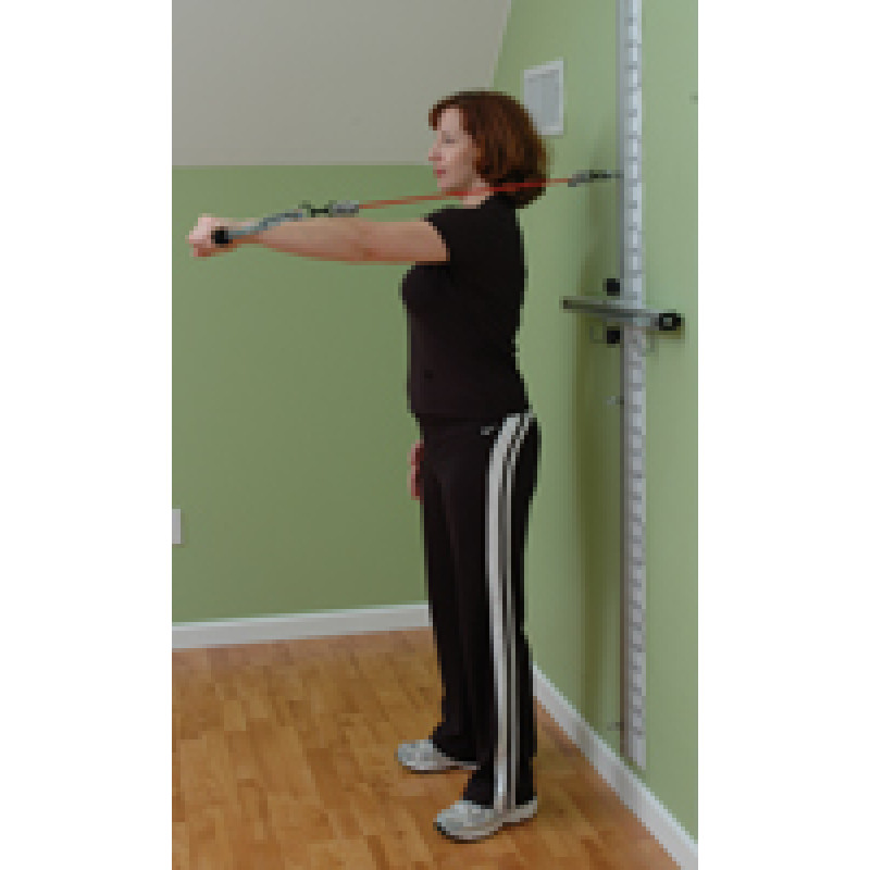 Wall Station Scapular Protraction