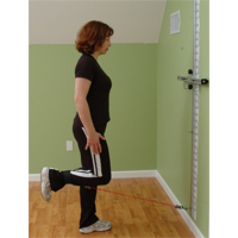 Wall Station Knee Flexion (Standing)
