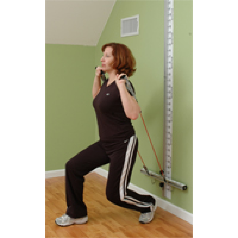 Wall Station Lunge