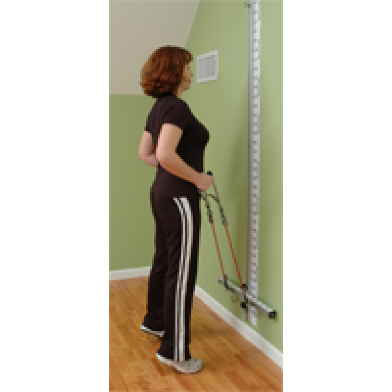 Wall Station Calf Raise
