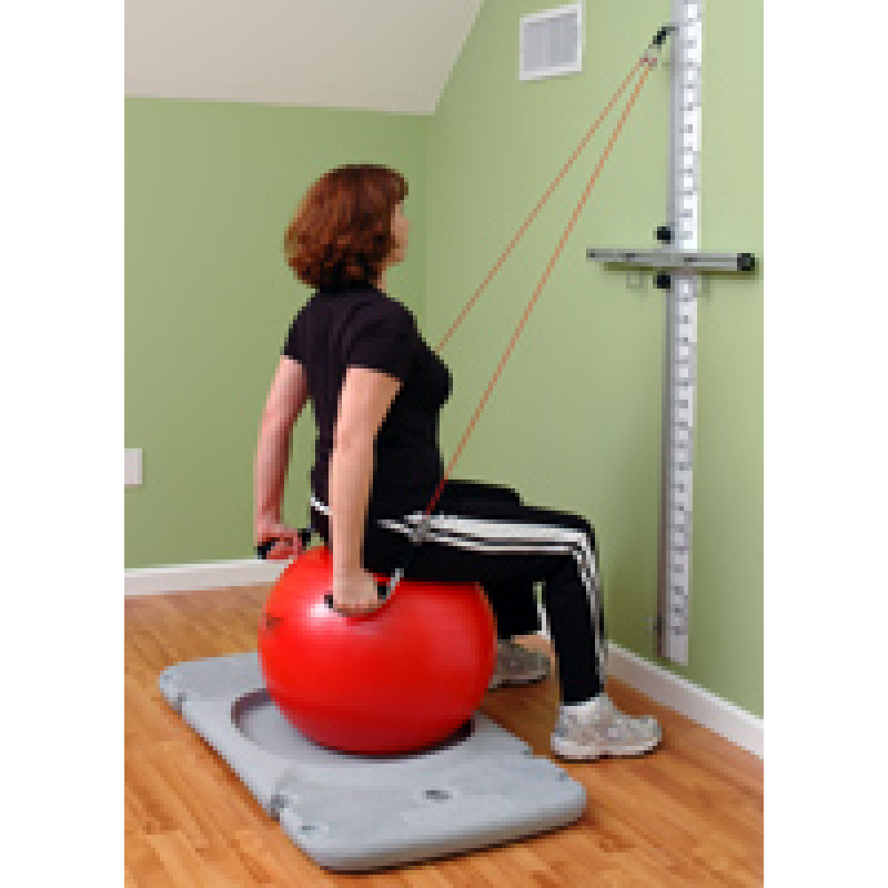 Rehab Station Shoulder Extension on Ball