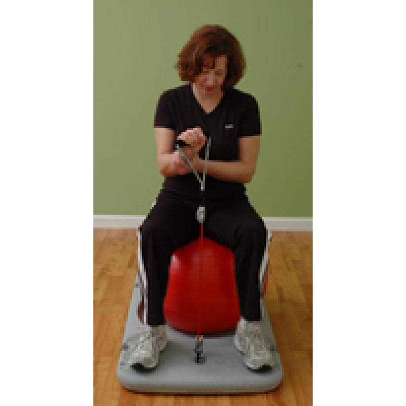 Rehab Station Wrist Extension on Ball