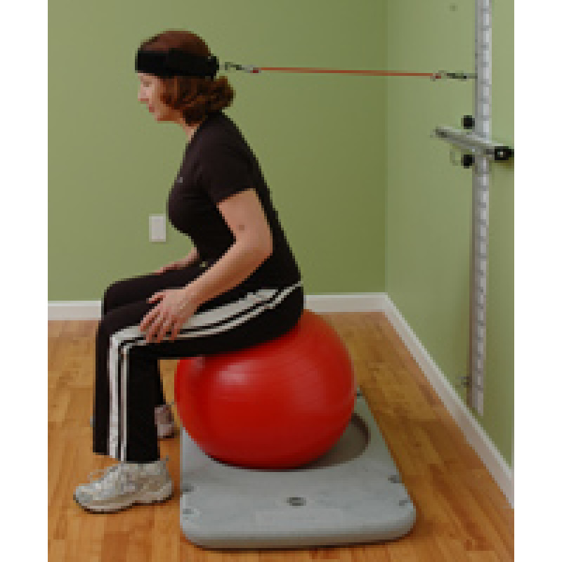 Rehab Station Cervical Flexion on Ball