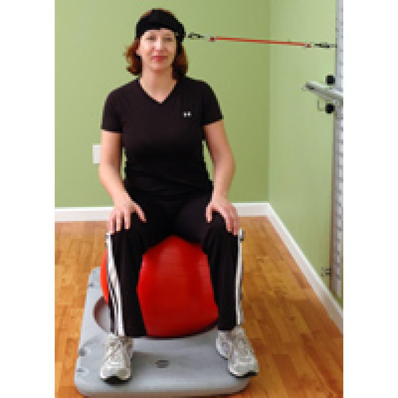 Rehab Station Cervical Translation on Ball