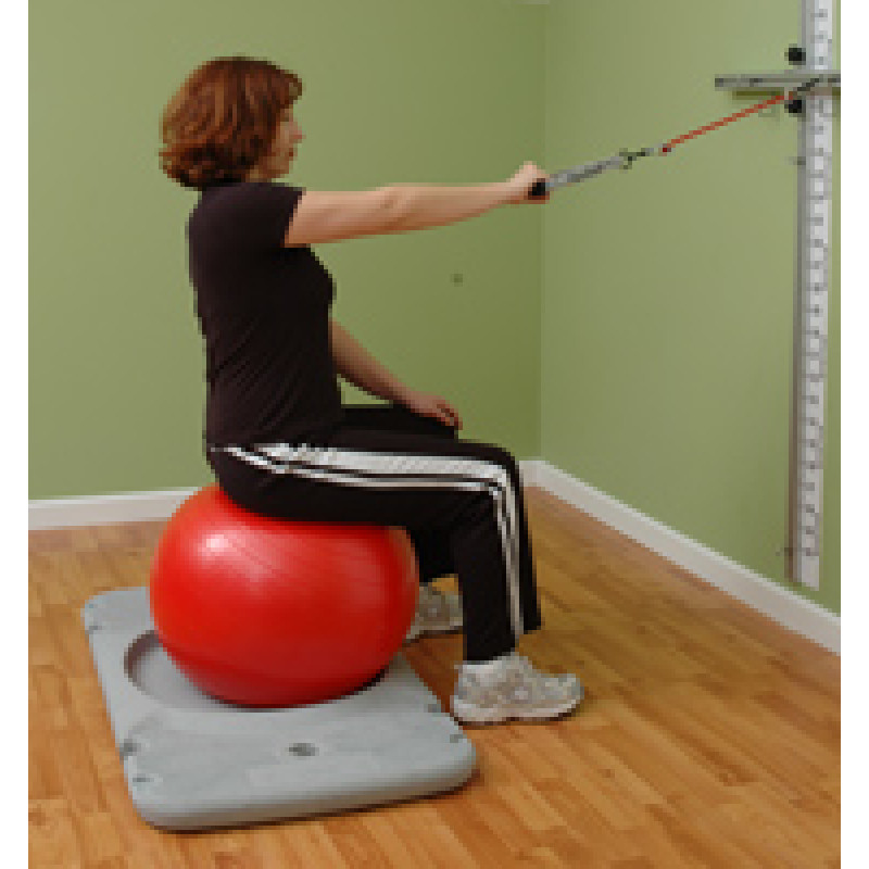 Rehab Station Scapular Retraction on Ball