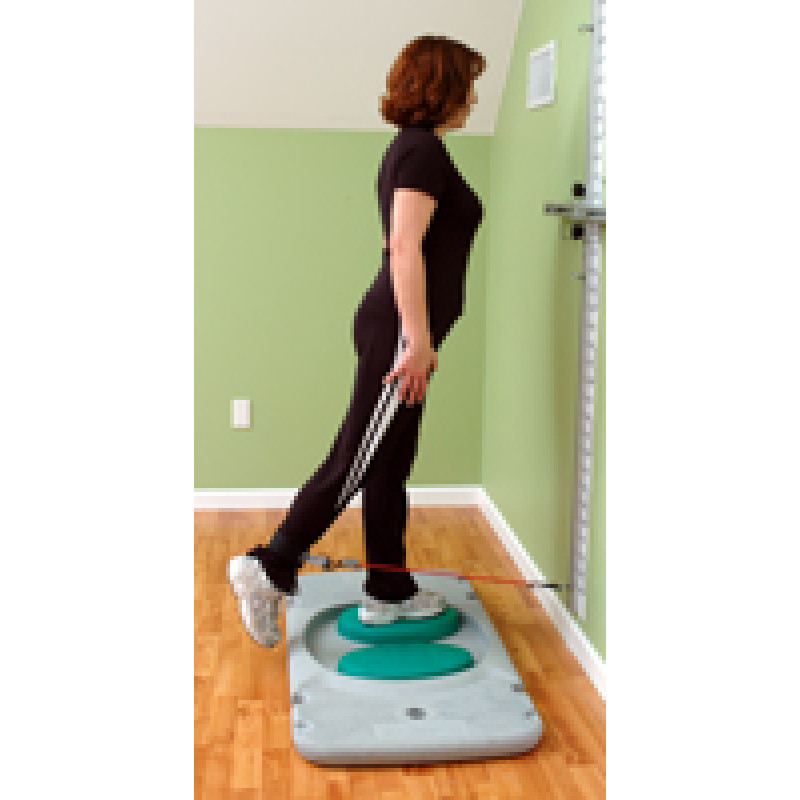 Rehab Station Hip Extension on Stability Trainer